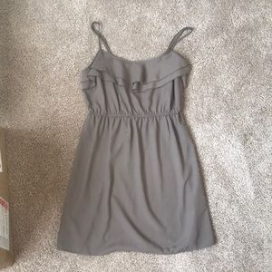 Forever 21 size L tan/brown dress